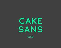 Cake Sans