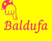 Baldufa, a colourful typeface