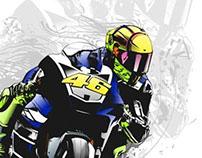 Tribute to Valentino Rossi