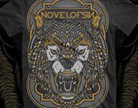 Novel of Sin - T-shirt & Poster design