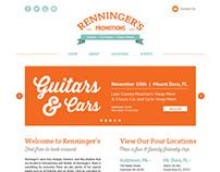 Renninger's Promotions Web Design