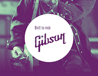 Gibson - Built to rock.