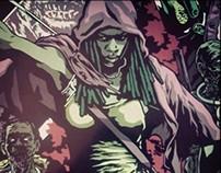 AMC The Walking Dead x Hero Complex Gallery Poster