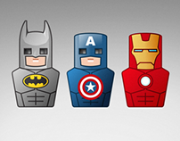 USB Flash Drive Superheroes Vol.2