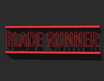 BLADE RUNNER opening credits (Remake) VIDEO