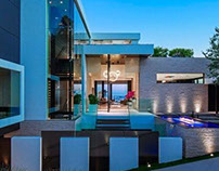 Modern Villa Laurel Way by Whipple Russell Architects
