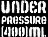 Sprayed Stencil Typeface