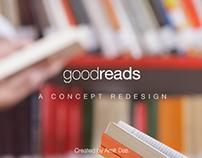 Goodreads - A Concept Redesign