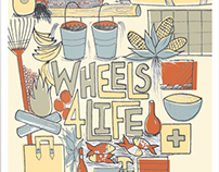 Wheels 4 Life Poster