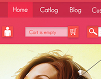 E-commerce Website Home Page
