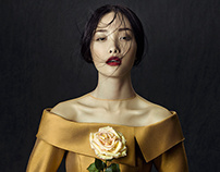Phuong My FW13/14 Collection: Flowers in December