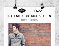Nau : Extend Your Bike Season Trunk Show
