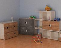 furniture set for kids room