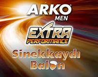 Arko Men Extra Performance Shaving Gel Facebook Game