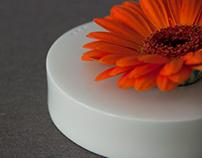 Belly button vase