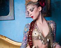 Klimt Inspired Fashion Shoot