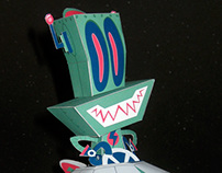 Puck for Paper Robots book