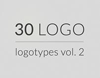 30 logos, logotypes vol 2