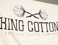 King Cotton Coffee Branding