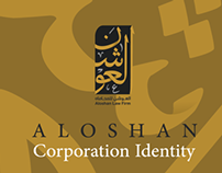 Aloshan Corporation Identity