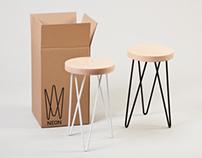 Neon Stool   Product Design
