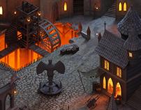 Core Mundi - Isometric Game Environment