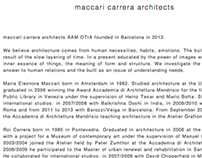 Architects maccaricarrera.com
