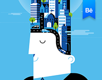 BBVA Corporative Illustration