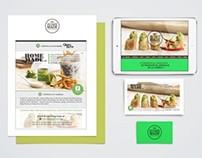 Branding HomeMade Catering - Cocina de Mercado -