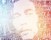 Bob Marley Vinyl Design