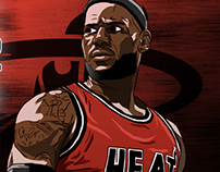 ESPN NBA Illustrations