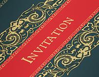 Demonic Halloween Party Invitation