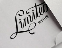 the Limited Nights party identity final version / 2011