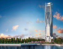 One Thousand Museum Residential Tower by Zaha Hadid