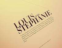 Louis & Stephanie Pre Wedding Album