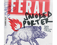 Feral Brewing Company Packaging