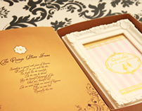 Packaging Vintage Photo Frame & Diary