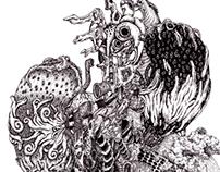 pen drwing_organ (內臟)