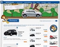 Design site Prestige Peugeot