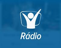 Design App Rádio Novo Tempo