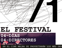 Festival de Cine Exprimental // Piezas Institucionales