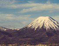 Tongariro landscape