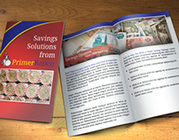 Bank Brochure Print Design