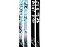 Mineral ski designs