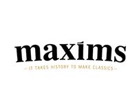 Maxims Rebranding