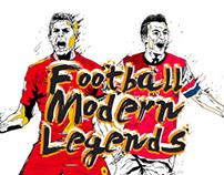FOOTBALL MODERN LEGENDS