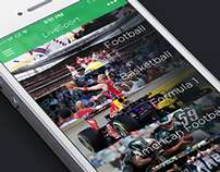 Livesport app concept