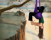 Aerial Yoga In the Sky