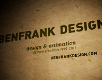 BENFRANK DESIGN :: 2011 Reel