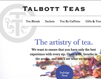 Talbott Teas Website